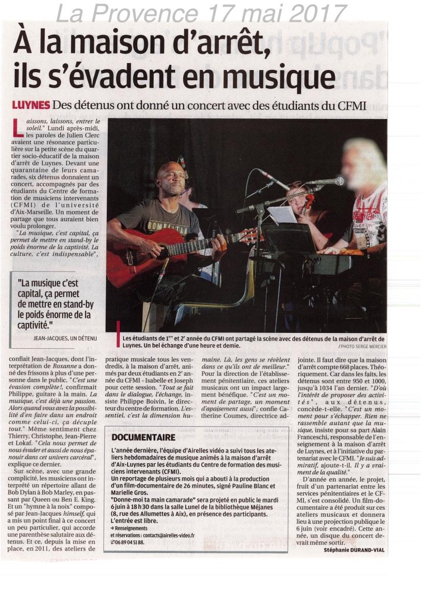 Concert Luynes 2017